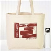 Teaching Professions Personalized Tote Bag - 13633