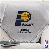 NBA Logo Personalized Sweatshirt Blanket - 13634
