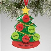 Family Christmas Tree© Personalized Ornament
