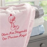 Precious Moments® Personalized Embroidered Blanket - 13692