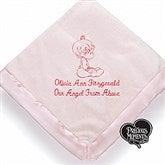 Precious Moments® Personalized Embroidered Blanket- Pretty Pink - 13692-P