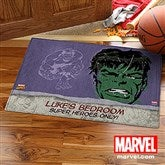 Marvel Retro® Portraits Personalized Recycled Rubber Back Doormat - 13696