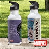 Marvel Retro® Portraits Personalized Water Bottle - 13701
