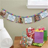 Photo Party Stripe Paper Banner - 13716