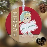 1-Sided Precious Moments® Personalized Christmas Elf Ornament - 13749-1