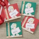 Precious Moments® Personalized Christmas Elf Gift Tags - 13750