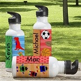 Just For Him Personalized Water Bottle - 13766