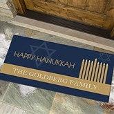 Hanukkah Personalized Oversized Doormat - 13783-O