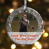 1-Sided Camouflage Photo Personalized Ornament - 13809-1