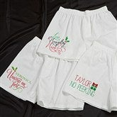 Naughty or Nice Personalized Holiday Boxers - 13813