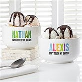 All Mine! Personalized Snack Bowl - 13821-N