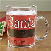 Cookies For Santa Personalized Melamine Mug - 13832D-M