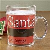 Cookies For Santa Personalized Melamine Mug - 13832D-M