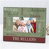 Our Loving Family Christmas Personalized Photo Frame - 13833