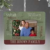 Our Loving Family Personalized Mini-Frame Ornament - 13842