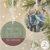 2-Sided Our Loving Family Personalized Ornament- Large - 13843-2L