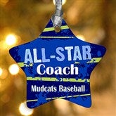 1-Sided All-Star Personalized Ornament - 13854-1