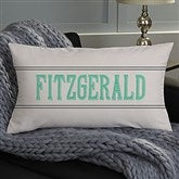 Milestone Dates Family Personalized Lumbar Throw Pillow - 13872-LB