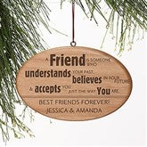 Forever Friend Personalized Ornament - 13874