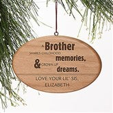 Special Brother Personalized Ornament - 13875