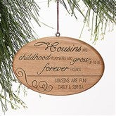 Special Cousin Personalized Ornament - 13876