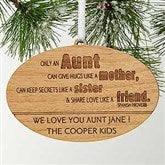 Special Aunt Personalized Ornament - 13878