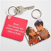 Picture Perfect Personalized Photo Key Ring - 13897