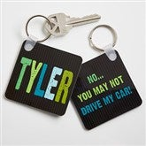 All Mine! Personalized Key Ring - 13898