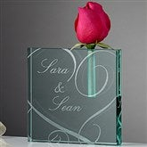 Couple In Love Personalized Bud Vase - 13978