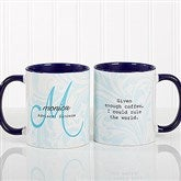Name Meaning Personalized Coffee Mug- 11 oz.- Blue - 13983-BL