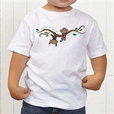 Two Little Monkeys Personalized Toddler T-Shirt - 14002-TT