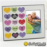 SmileyWorld® Loving Hearts Personalized Photo Frame - 14012