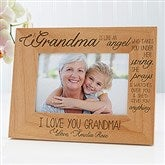 Special Grandma Personalized Photo Frame- 4 x 6 - 14025
