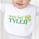 Born Lucky Personalized Bib - 14055-B