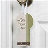 Irish Blessing Personalized Door Key