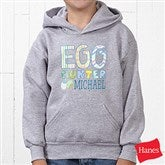 Egg Hunter Personalized Youth Hooded Sweatshirt - 14079-YHS