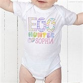Egg Hunter Personalized Baby Bodysuit - 14079-CBB