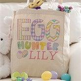 Egg Hunter Easter Personalized Petite Tote Bag - 14080