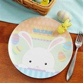 Happy Easter Personalized Melamine Plate - 14082D-P