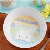 Happy Easter Personalized Melamine Bowl - 14082D-B