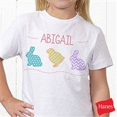 Hip Hop Easter Personalized Hanes® Youth T-Shirt - 14086-T