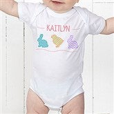 Hip Hop Easter Personalized Baby Bodysuit - 14086-CBB