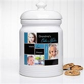 My Favorite Faces Personalized Cookie Jar - 14097