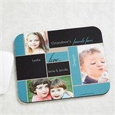 My Favorite Faces Personalized Photo Mouse Pad - 14098