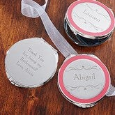 The Bridal Party Engraved Compact Mirror - 14105