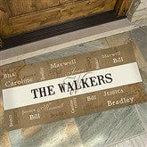 Our Loving Family Personalized Oversized Doormat- 24x48 - 14118-O