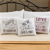 Love Quotes Personalized Throw Pillow - 14128