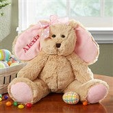 Some-Bunny Special Embroidered Plush Bunny- Pink - 14129-P