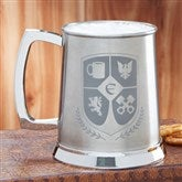 My Crest Personalized Initial Tankard - 14146-I