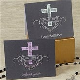 Blessed Day Personalized Thank You Cards - 14156